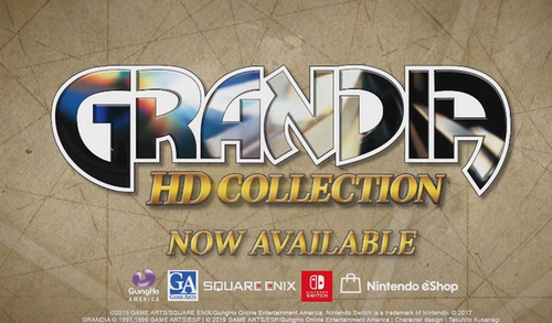 Switch「グランディアHDコレクション」 海外版ローンチトレーラーが公開!