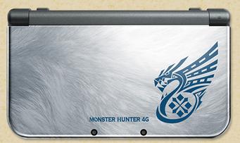 モンハン仕様の「Newニンテンドー3DS」 4G同梱スペシャルパックが登場!メタリックシルバー本体カラーがカッコ良すぎ!!