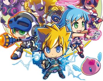 PS4/PSV 「ぎゃるガンヴォルト」 王道2D横スクアクション新作、DL専売 500円で8/6配信開始!
