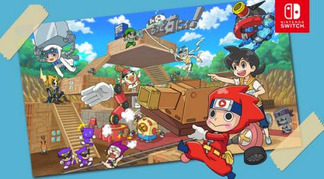 バンナム完全新作クラフトゲーム「ニンジャボックス」試遊版プレイ動画が公開!