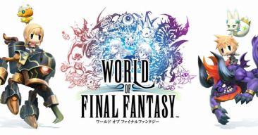 PS4/PSV 「ワールドオブファイナルファンタジー」 新規アニメ & 召喚獣映像が公開!!