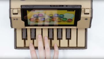 【Nintendo Labo】ダンボールピアノの仕組み、どうなってんのあれ?