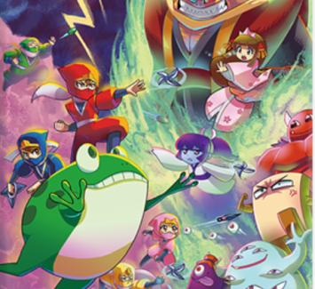 Switch/PS4「忍者じゃじゃ丸 コレクション」発売日が12/12に決定!パッケージビジュアルなど新情報公開