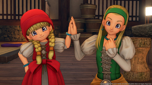 PS4/3DS「ドラゴンクエスト11」 天才少女・ベロニカ、癒やし手のセーニャ 新情報、最新スクリーンショット公開!