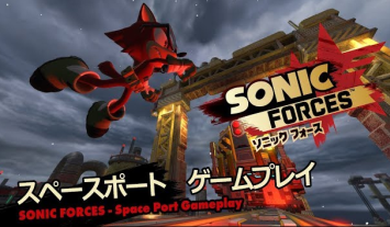 「ソニックフォース」 『レンタルアバター』『スペースポート』プレイ映像が公開!