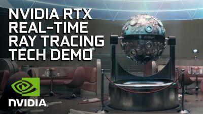 【朗報】MSがレイトレーシングをリアルタイムで行えるAPI 「DirectX Raytracing」を公開!映画並みのグラフィックへ大幅向上!!