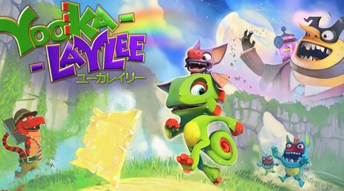Switch版「Yooka-Laylee(ユーカレイリー)」64風グラフィックを再現する最新アプデ映像を公開!