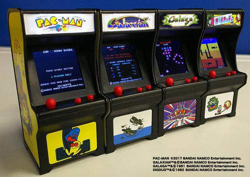 【郎報】パックマンやギャラクシアンのアップライト筐体が2480円で買える『TINY ARCADE』が大人気!お家をゲーセン化!!