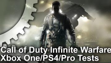 「CoD:インフィニット・ウォーフェア」 PS4/Pro/XB1 パフォーマンス比較映像が公開!比べるとやっぱりPro