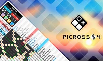 「ピクロス S4」Switch向けに4/23配信決定!ピクロスシリーズ最新作が登場、過去作セールも実施