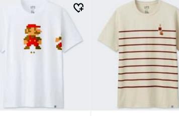 ワイ、ユニクロの任天堂コラボTシャツが欲しすぎて泣く(`;ω;´)