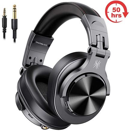 【物欲レビュー】有線でも無線でも使える高性能ワイヤレスヘッドホン「FuSion A7/OneOdio」が凄い!しかも安い!!