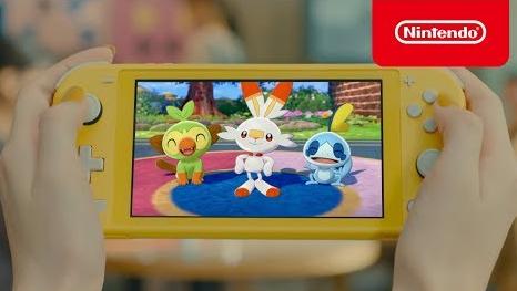 『Nintendo Switch Lite』TVCM第2弾公開!ポケモンソード・シールドをフィーチャー