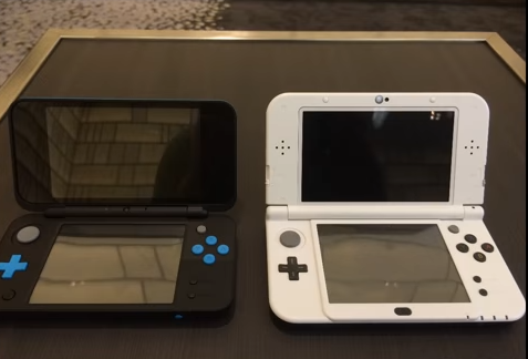 「Newニンテンドー2DS LL」 3DSとのサイズ比較動画公開!!