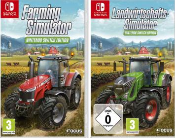 農業ゲー「Farming Simulator」 ニンテンドースイッチ版が発売決定!!