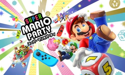 Switch「スーパーマリオパーティ」Amazon予約開始!!