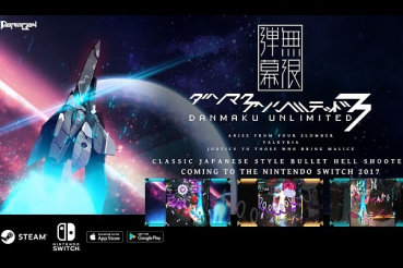 【朗報】弾幕系シューティングゲーム「Danmaku Unlimited 3」がニンテンドースイッチで発売決定!