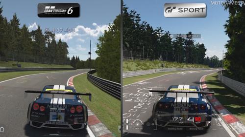 PS4「グランツーリスモSPORT」 ベータ版 VS GT6 グラフィック比較動画が公開!!