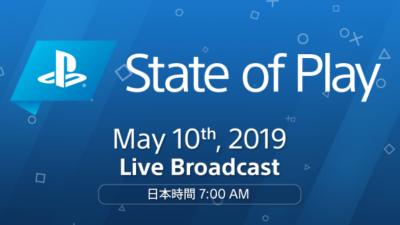 【朗報】Sony Direct『State of Play』の第2回が5月10日午前7時に放送決定!!予定時間は15分