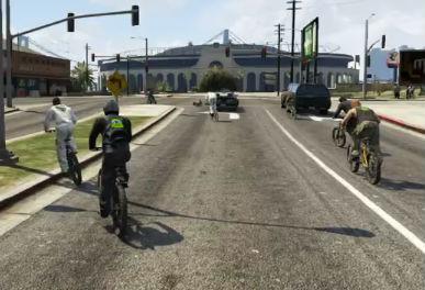 「GTAオンライン」でガソリンスタンド襲って暴れまわってみたwww