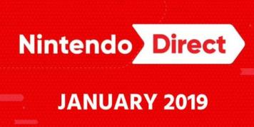 【速報】Next Nintendo Direct 2019.1.10