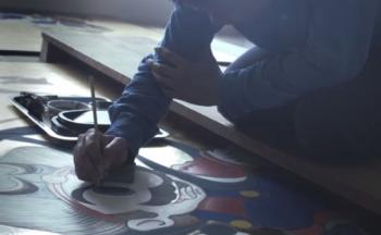 『マリオ&ルイージ図屏風』 メイキング映像が公開!これは素晴らしい芸術作品