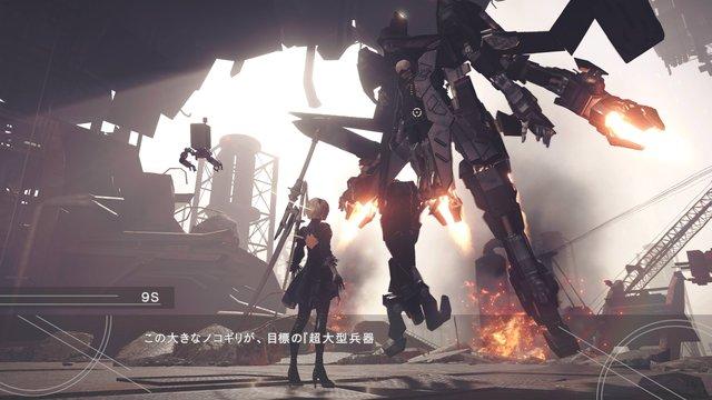 【画像】ニーアオートマタ ネイティブ4KHDR (XboxOne X版)高解像度スクリーンショットが公開!