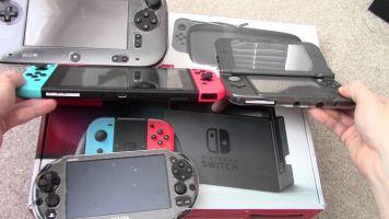 Switch、3DS、PSvita 携帯ゲーム機を買うならどれがええか