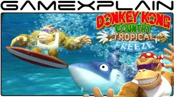 Switch版「ドンキーコング トロピカルフリーズ」ワールド1,2 プレイ動画が公開!