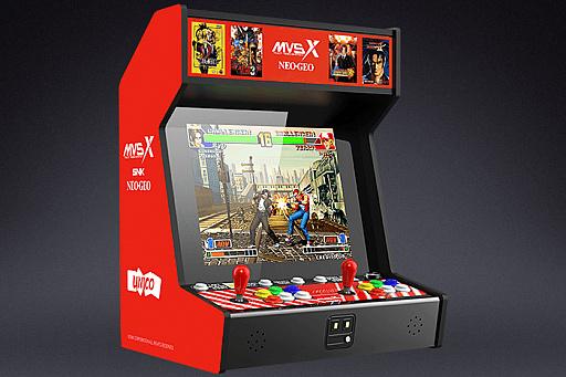 【衝撃】ネオジオのゲームを50タイトル収録した「SNK NEOGEO MVSX」が発表!お値段は約5万円