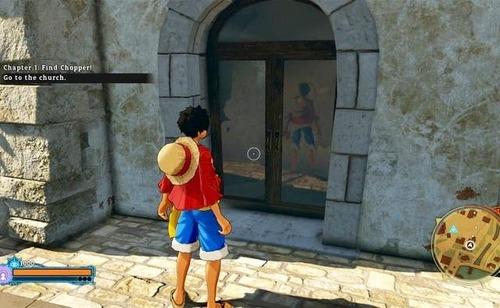 【悲報】PS4「ワンピース ワールドシーカー」の鏡の反射がおかしい