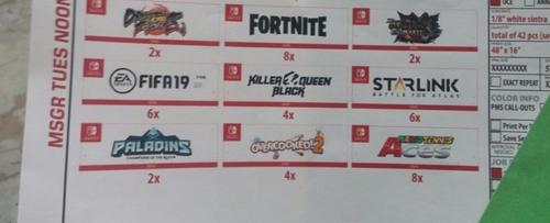 【速報】E3 任天堂プレゼンの資料が流出!!