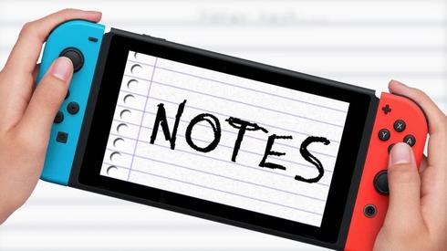 【ノンゲーム】電卓の次はノート!Nintendo Switch「Notes」が発売