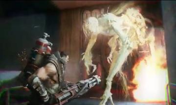 """「Evolve」 クモ型モンスター""""Gorgon"""" ホラー映画調の紹介トレーラーがけっこうコワイwww"""