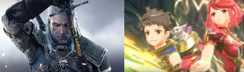 ゼノブレ2  VS  ウィッチャー3