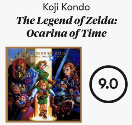 【朗報】先週発売した時オカのサントラが9.0点の超高評価 近藤浩治先生が世界的ミュージシャンに