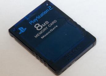 PS2のメモリーカードの容量が8MBだったってマジ?