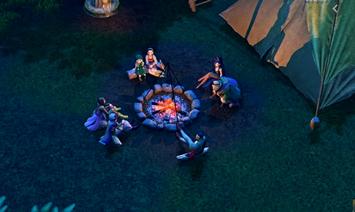 【朗報】焚火を囲むシーンがあるゲーム、名作しかない