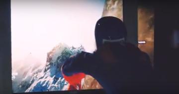 「STEEP」 室内スカイダイビングしながらプレイに挑む楽しすぎるプレイ映像公開www!