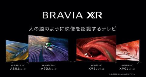 """【朗報】""""脳のように処理する""""PS5の4K120p対応のブラビアXR有機ELテレビを発表"""