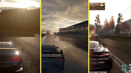 今年発売のレースゲー『GTスポーツ』『フォルツァ7』『プロジェクトCars2』 比較映像が公開!
