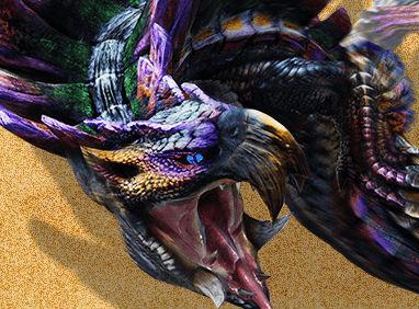 3DS「モンスターハンター4G」 紫になったガララアジャラ亜種を分析・攻略!
