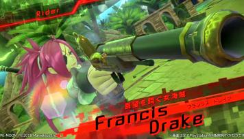 PS4/PSV「Fate/EXTELLA LINK」ショートプレイ動画『フランシス・ドレイク』『ロビンフッド』篇が公開!