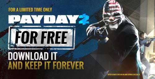 【朗報】「PAYDAY 2」 強盗FPS傑作、期間・本数限定の無料配信がSteamで開始!やりたい人は急いでDL!!