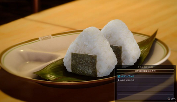 FF15スタッフ「料理はグラフィックだけでなく、味見もして美味しかったら撮影OKでした」