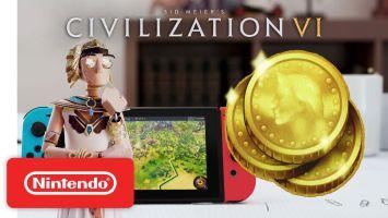 Switch「シドマイヤーズ シヴィライゼーション VI」 ゲームプレイトレーラーが公開!