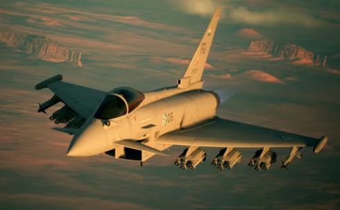 PS4/XB1「エースコンバット7 スカイズ・アンノウン」機体紹介トレーラー『Typhoon』が公開!