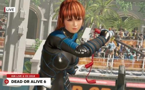 シリーズ最新作「DEAD OR ALIVE 6」E3 2018 10分超えのプレイムービーが公開!
