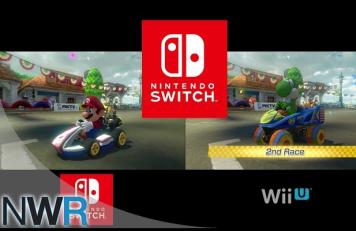 「マリオカート8 デラックス」 スイッチ vs WiiU 比較映像が公開!