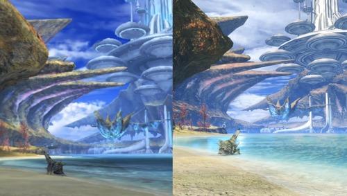 【朗報】「ゼノブレイド Definitive Edition」、正確な画像比較によりフィールドも全面的に作り直されていたと判明!!